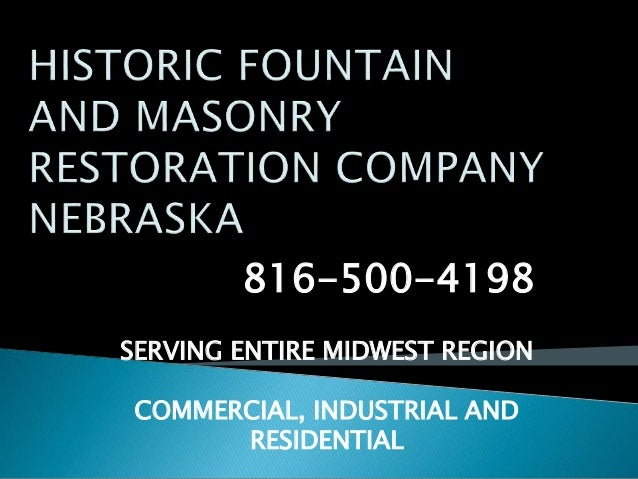 816-500-4198 SERVING ENTIRE MIDWEST REGION COMMERCIAL, INDUSTRIAL AND RESIDENTIAL