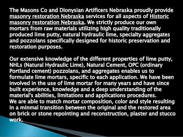 HISTORIC FOUNTAIN AND MASONRY RESTORATION NEBRASKA 816-500-4198 Slide 2