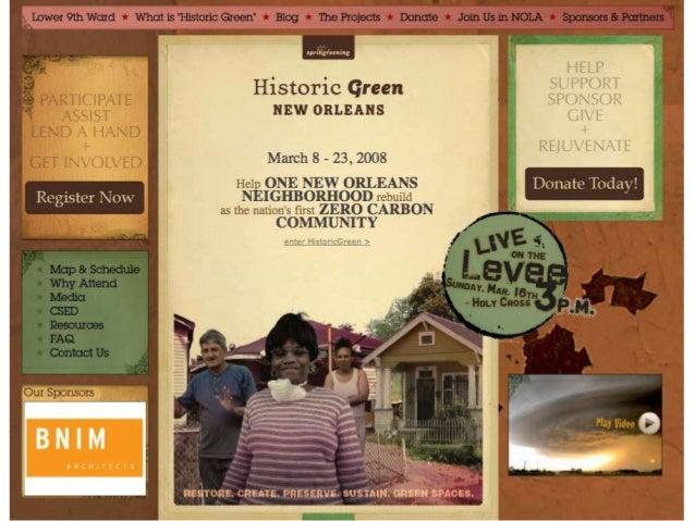 Historic Green Website