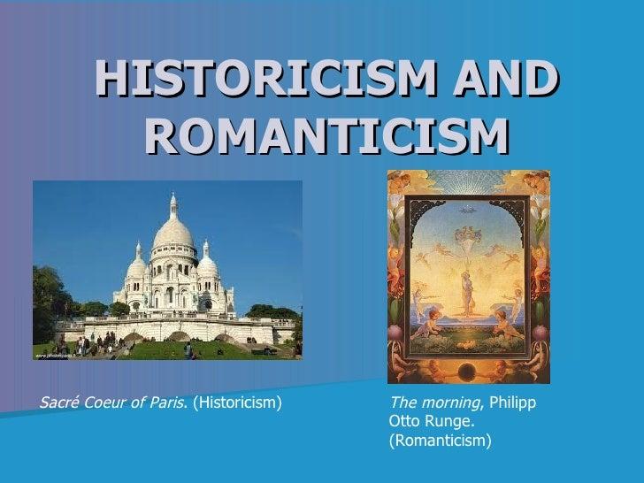 HISTORICISM AND         ROMANTICISMSacré Coeur of Paris. (Historicism)   The morning, Philipp                             ...