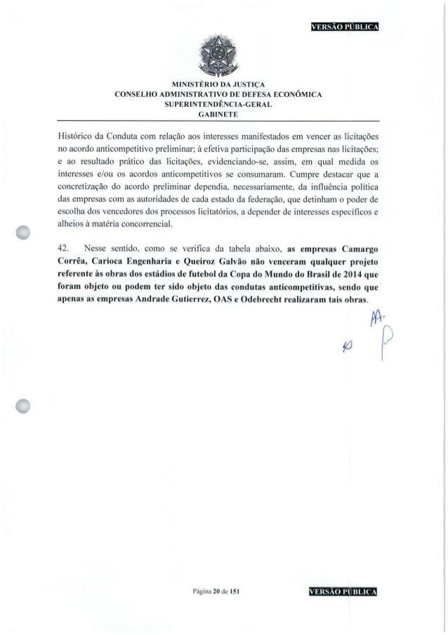 VERSÃO PUBLICA MINISTÉRIO DA JUSTIÇA CONSELHO ADMINISTRATIVO DE DEFESA ECONÔMICA SUPERINTENDÊNCIA-GERAL GABINETE c Históri...