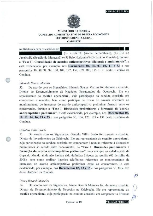 VERSÃO PÚBLICA o MINISTÉRIO DA JUSTIÇA CONSELHO ADMINISTRATIVO DE DEFESA ECONÔMICA SUPERINTENDÊNCIA-GERAL GABINETE multila...