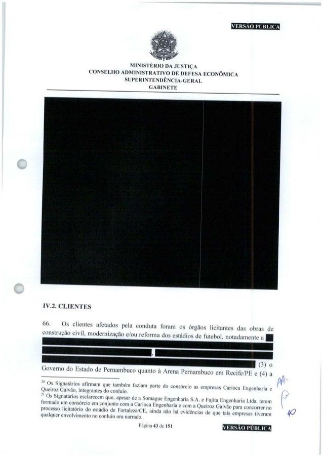 SaiMBEIB! MINISTÉRIO DA JUSTIÇA CONSELHO ADMINISTRATIVO DE DEFESA ECONÔMICA SUPERINTENDÊNCIA-GERAL GABINETE IV.2.CLIENTES ...