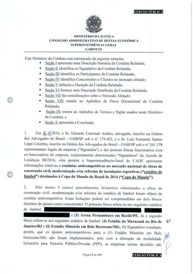 VERSÃO PUBLICA MINISTÉRIO DA JUSTIÇA CONSELHO ADMINISTRATIVO DE DEFESA ECONÔMICA SUPERINTENDÊNCIA-GERAL GABINETE c Este Hi...