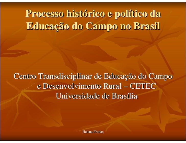 Historico Educação do Campo Slide 2