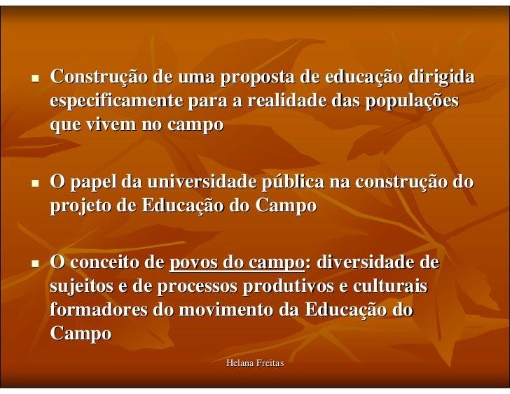Historico Educação do Campo Slide 3