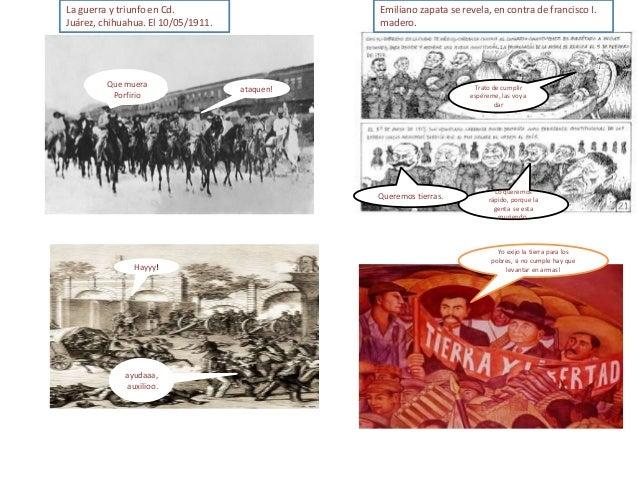 Historieta de la revolucion mexicana Slide 3