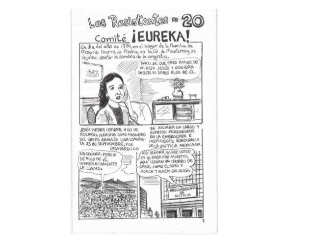 Historieta los resistentes #20. Comité Eureka