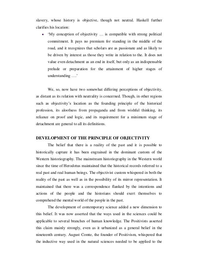 Historiographical essay example