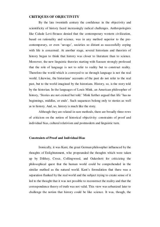 Historiographic essay example