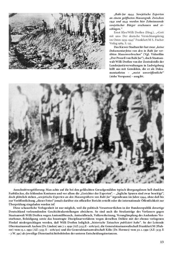 """""""Babi-Jar 1944. Sowjetische Experten                                                                                 an ei..."""