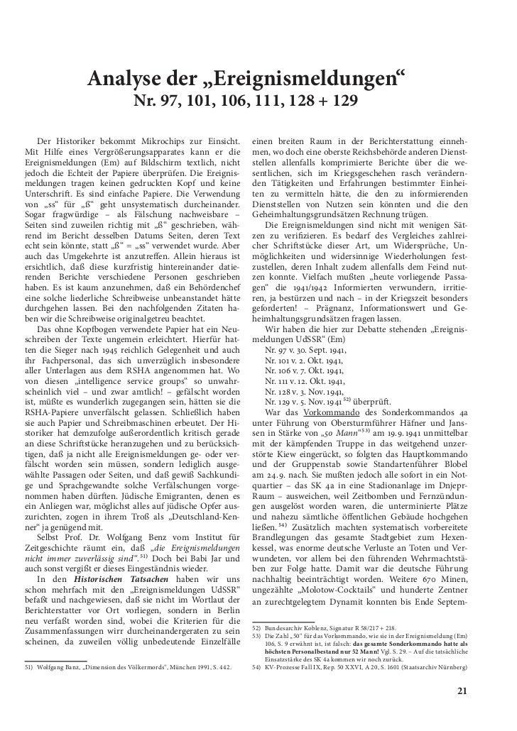 Historische tatsachen   nr. 51 - udo walendy - babi jar - die schlucht mit 33.771 ermordeten juden (1992, 41 s., text)