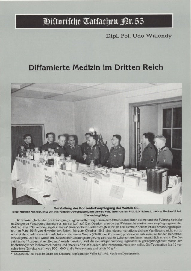 Historische tatsachen   nr. 55 - udo walendy - diffamierte medizin im dritten reich (1992, 40 s., scan)