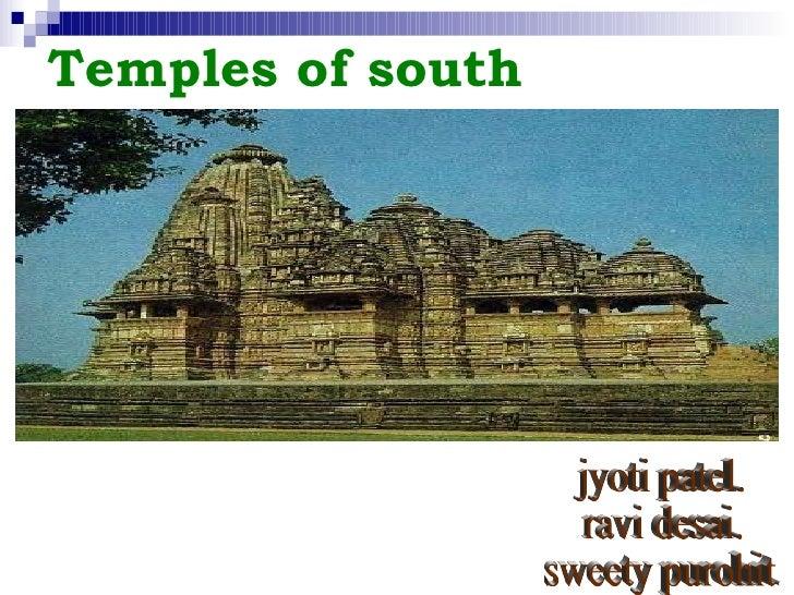 Temples of south jyoti patel. ravi desai. sweety purohit.