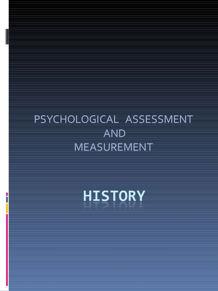 What is Psychological Assessment?