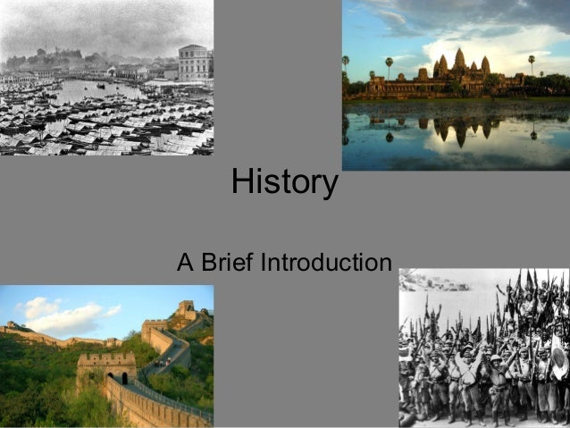 History A Brief Introduction