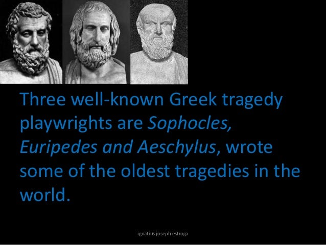 the nature of tragedy during the century after sophocles In the 161 h century, after the rediscovery of the poetics, the moral school began  to gain  the tragic hamartia in his definition of the tragic character four critics.