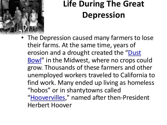 an analysis of the great depression from 1929 to 1930s Sample process analysis paper subjects  the depression began in 1929 and lasted until 1939  the great depression began in the united states,.