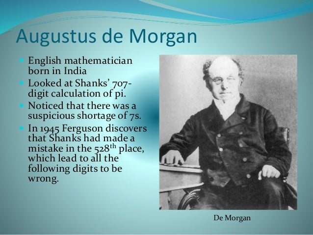 augustus essay Augustus de morgan was a british mathematician and logician he formulated  de morgan's  an essay on probabilities, and their application to life  contingencies and insurance offices london: longman, orme, brown, green &  longmans.