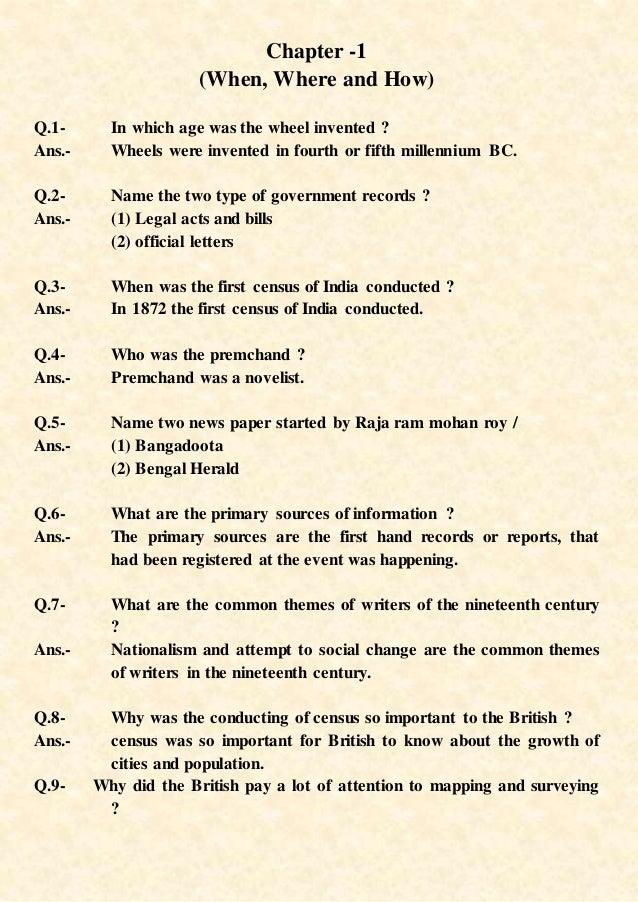 Ncert History Book Class 9 Chapter 1