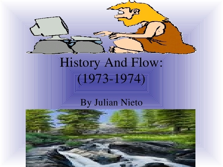 History And Flow: (1973-1974) By Julian Nieto
