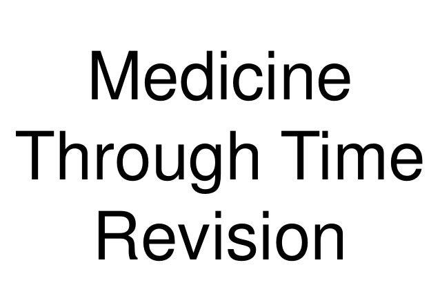 Medicine through time - Edexcel GCSE