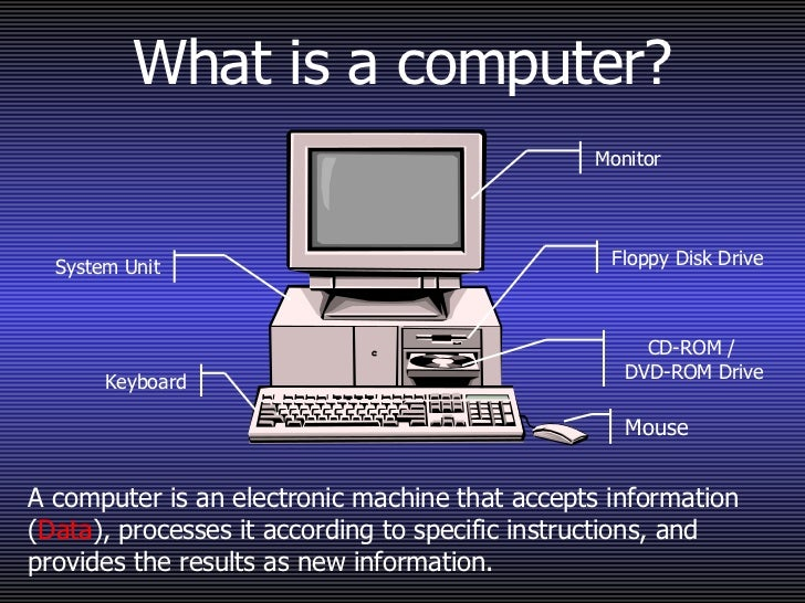 a short history about computers