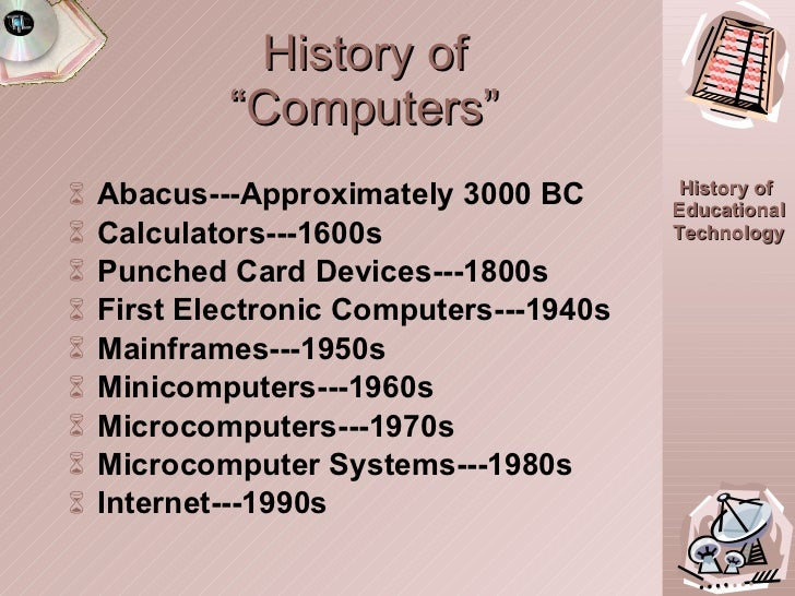 essay on history of computers