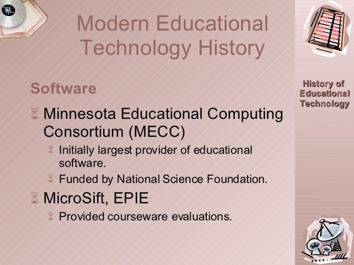 <ul><li>Minnesota Educational Computing Consortium (MECC) </li></ul><ul><ul><li>Initially largest provider of educational ...