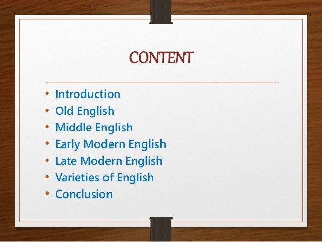 History of-english Slide 2