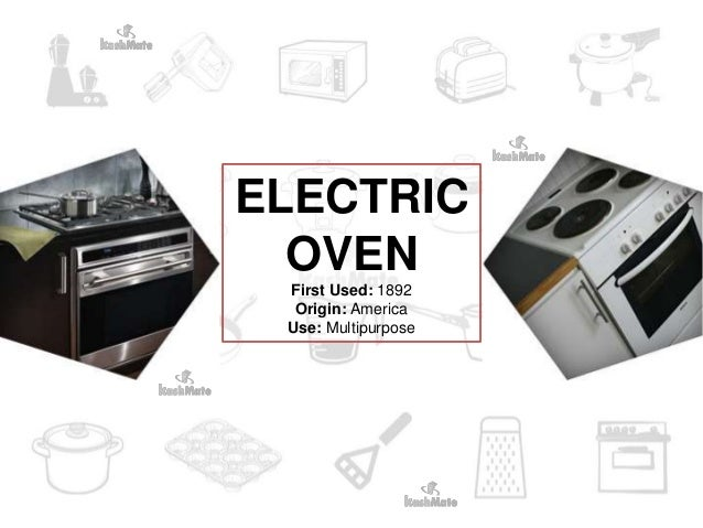 History of Kitchen Appliances