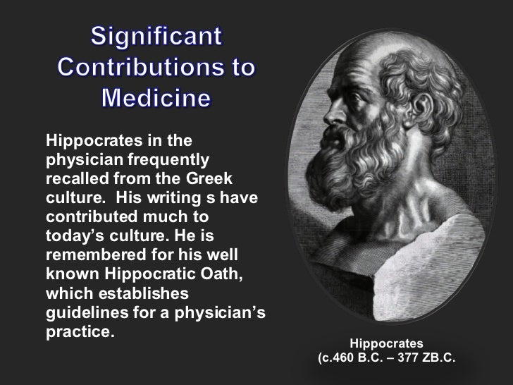 Essay about hippocratic oath