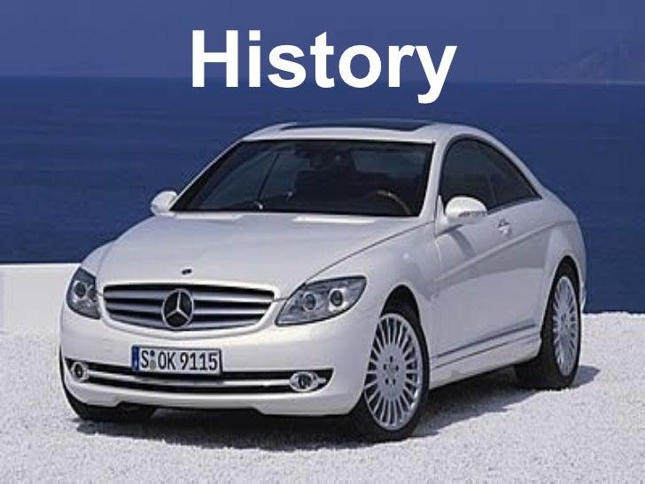 History Of Mercedes Benz Slide 1