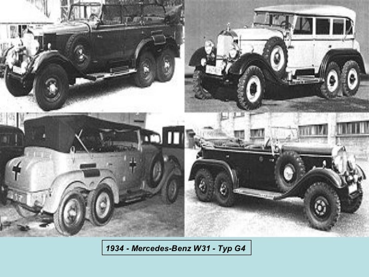 1934 - Mercedes-Benz W31 - Typ G4