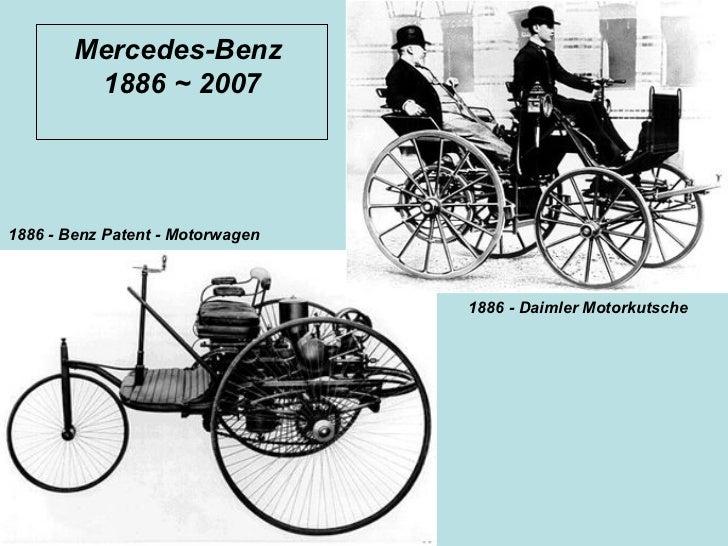 History Of Mercedes Benz Slide 2