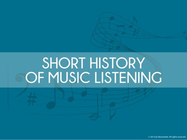 SHORT HISTORY OF MUSIC LISTENING. PHONOGRAPH: The first device able to record and reproduce the recorded sound, invented b...