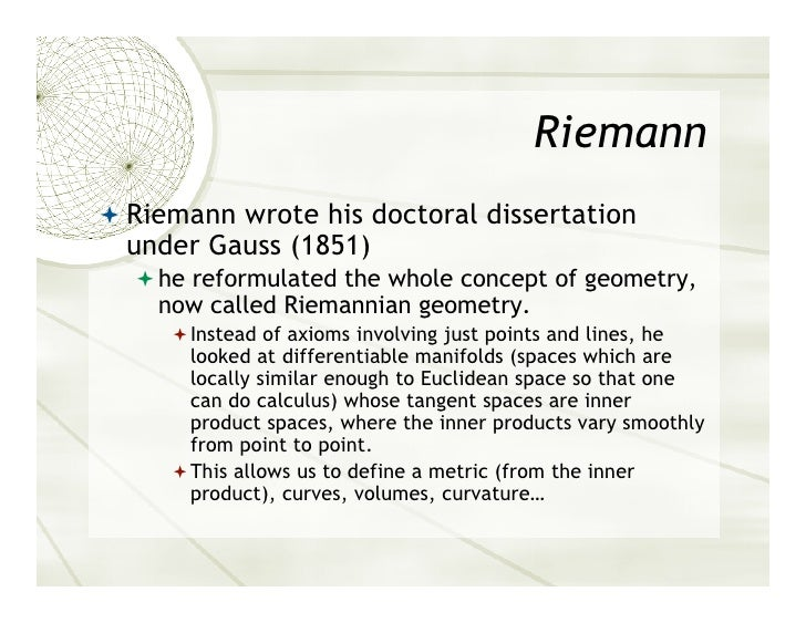 riemann doctoral dissertation 2018 phd programs online or nearby find your phd program today exploring your phd options find phd programs by subject & location get matched to top phd programs let me add also an example of another world: writing a thesis in the field of literature, my wife was asked to write at least 200.