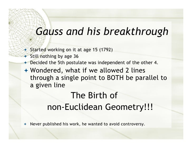 euclidean geometry essay Mathematics awareness month is held each year in april  announcement theme essays theme poster dvd committee sample press  , another non-euclidean geometry.