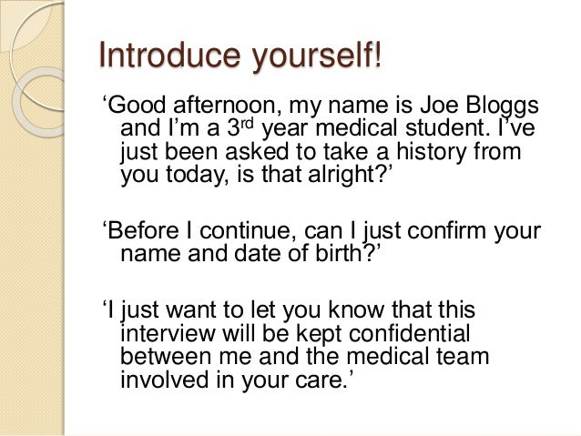 history-taking-for-osces-3-638 Medical History Form Joe Bloggs on