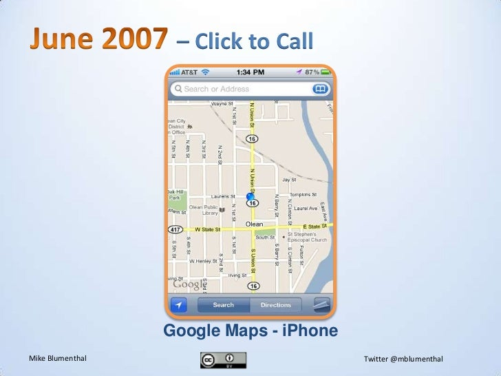 History of Google Local from 2004-2011 on