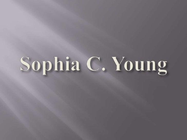 Sophia C. Young<br />