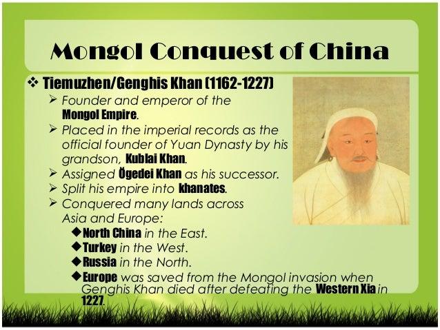 The mongol empire essay