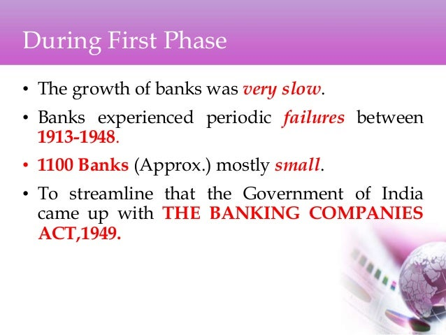 history and development of banks in india Company history - hdfc bank ltd 1994 - the bank was incorporated on 30th august a new private sector bank promoted by housing development corporation ltd (hdfc), a premier housing finance company.