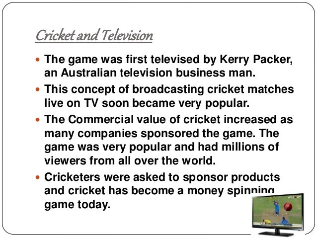 history of cricket in india essay These similarities mainly come from the fact that these religions have a common history and by the board of control for cricket in india or bcci.