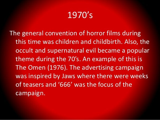History and evolution of the horror genre