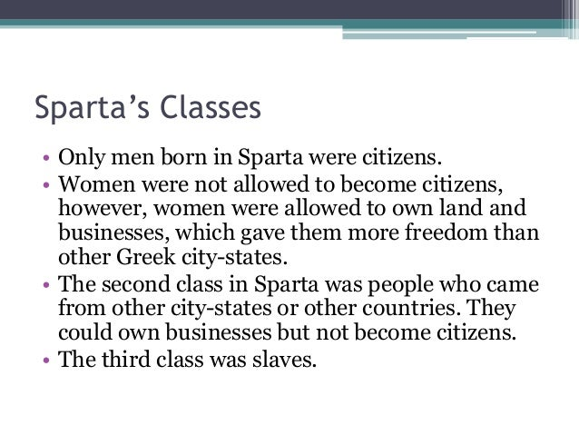 the history and importance of the greek cities of athens and sparta An important feature of ancient greece was that there was no unified between athens and the city-states of sparta history_ancient_med4greecedoc.