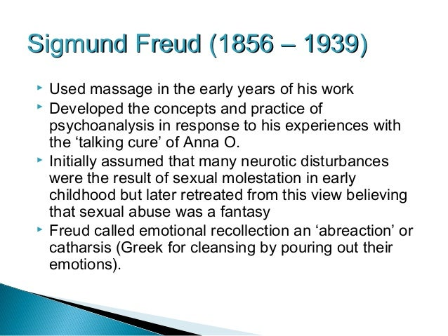 An analysis of depression in sexual repression according to freud