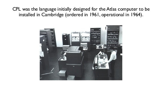 EDSAC 2 users in 1960 http://en.wikipedia.org/wiki/EDSAC_2 A replacement for EDSAC 2,