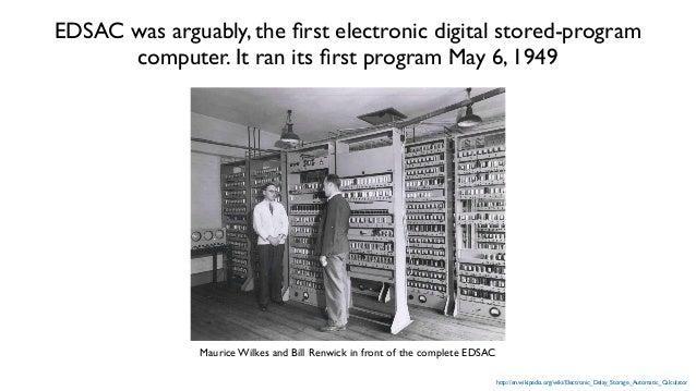 EDSAC 2 users in 1960 http://en.wikipedia.org/wiki/EDSAC_2