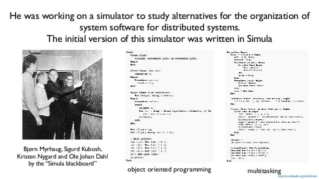 """Bjarne started to write a preprocessor to C that added Simula like classes to C. """"I learned C properly from people like St..."""